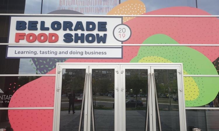 Bh. izlagači na sajmu hrane ¨Belgrade Food Show¨