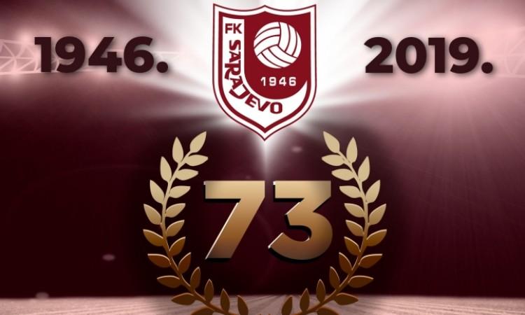 Fudbalski klub Sarajevo slavi 73. rođendan
