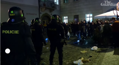 Screenshot_2019-10-12 England fans clash with Prague police before defeat to Czech Republic – YouTube