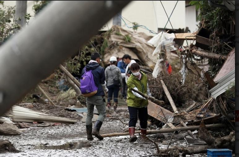 Broj poginulih nakon tajfuna Hagibis u Japanu porastao na 74