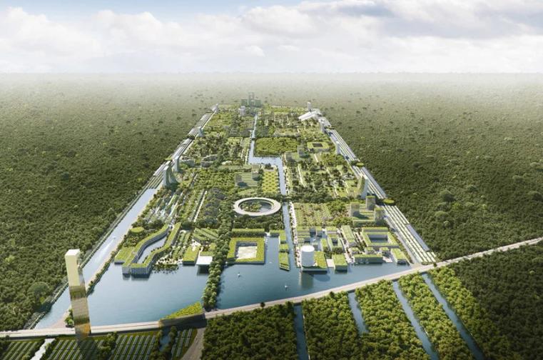 Pametni šumski grad sa 7,5 miliona biljaka mogao bi biti izgrađen u Meksiku