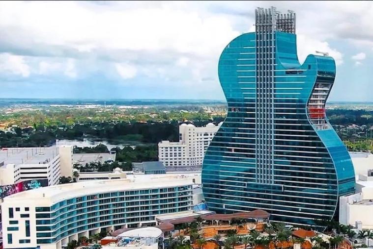 Prvi hotel na svijetu u obliku gitare otvorio je svoja vrata