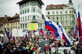 Više hiljada ljudi na protestu protiv slovenske vlade