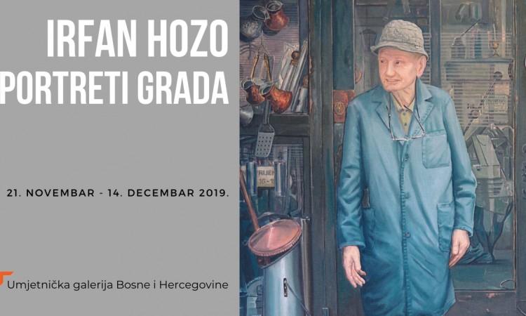 Izložbom ¨Portreti grada¨ Irfan Hozo obilježava 40 godina bavljenja umjetnošću