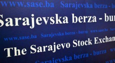 Na Sarajevskoj berzi promet 34.015 KM