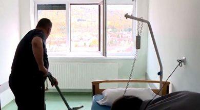 Nakon vatre voda iselila pacijente iz Kantonalne bolnice u Bihaću