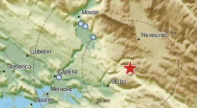 Novi zemljotres u BiH