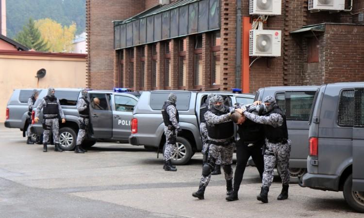 Pretresi i hapšenja na području TK zbog iznuda i ugrožavanja sigurnosti