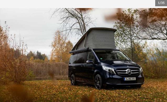 Novi paket opreme Mercedesov kamper Marco Polo čini još više sportskim