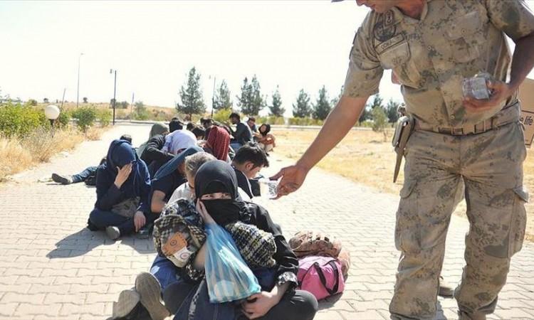 Turska prošle sedmice registrirala skoro 1.800 ilegalnih migranata