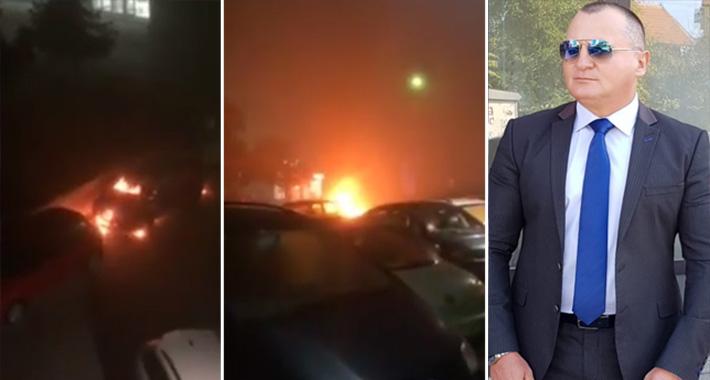 U Bijeljini zapaljen automobil bivšeg savjetnika Dragana Mektića