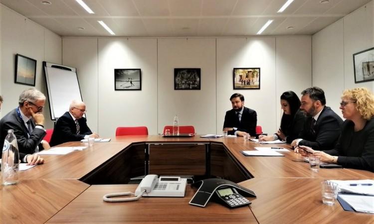 Košarac u Briselu: Intenzivirati saradnju s institucijama EU