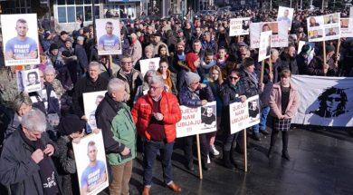 Protesti na godišnjicu stradanja Dženana Memića 2
