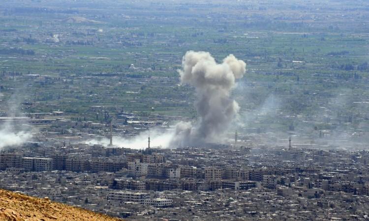 Sirijska protuzračna odbrana presrela izraelske rakete iznad Damaska