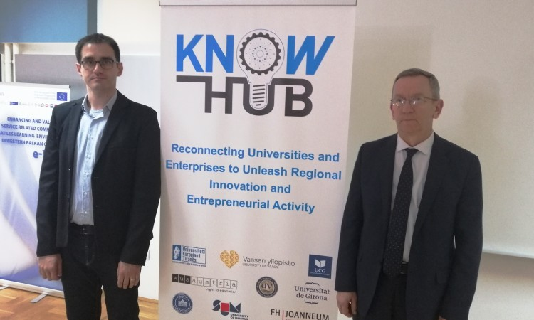 Jačanje inovativnih kapaciteta na Mašinskom fakultetu kroz projekt ¨KnowHub¨