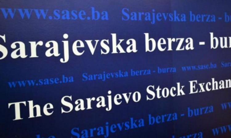 Na Sarajevskoj berzi promet 134.171,68 KM