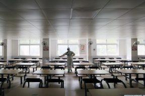 Kina_koronavirus_Hubei_dezinfekcija_skole_Xinhua