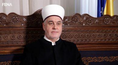 Reisu-l-ulema Islamske zajednice u Bosni i Hercegovini Husein ef. Kavazović