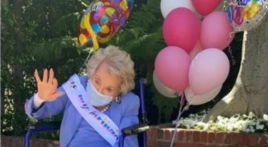 Screenshot_2020-04-26 Udovica Kirka Douglasa u elegantnom izdanju proslavila svoj 101 rođendan