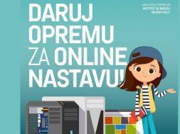 Udruge prikupljaju informatičku opremu za online nastavu