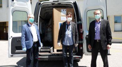 Zenička bolnica dobila i mobilni rendgen za liječenje Covid-19 pacijenata