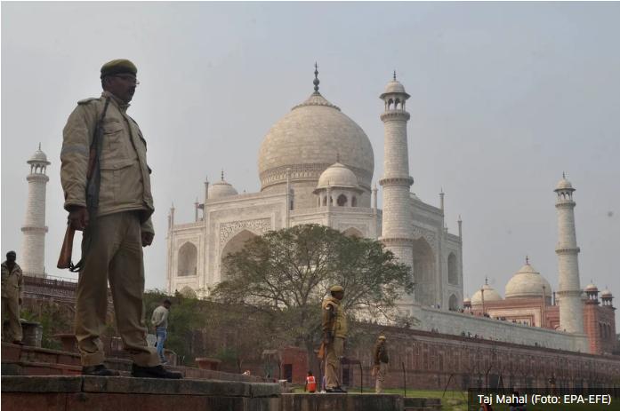 Taj Mahal otvoren za turiste nakon šest mjeseci
