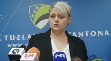 ministar zdravstva TK Dajana Čolić