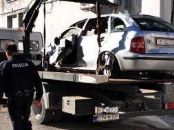 Četiri mlade osobe poginule u prometnoj nesreći kod Vinkovaca