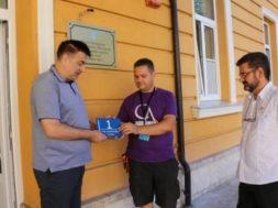 Grad Livno – postavljanje pločica
