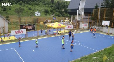 Mladi košarkaši vrijedno treniraju u kampu Spars Realwaya na Bjelašnici