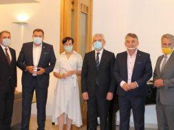 Njemačka ambasadorica Uebber sastala se s članovima Predsjedništva BiH
