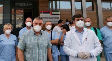 U Novi Pazar stigla grupa od 22 ljekara i medicinskih sestara
