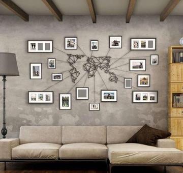 Učinite da vaš zid priča priču: Dekorišite ga i vratite toplinu vašem domu