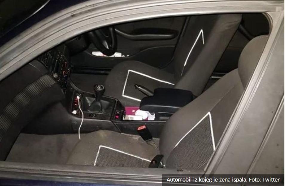 Žena u Londonu ispala iz automobila, pokušavala snimiti video mobitelom