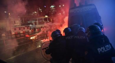 protesti italija
