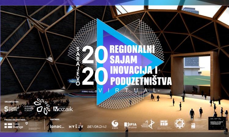 Regionalni virtualni Sajam inovacija i poduzetništva za podršku inovatorima