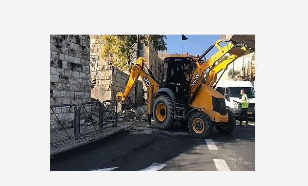Izraelske vlasti srušile stepenište koje vodi do džamije Al-Aqsa