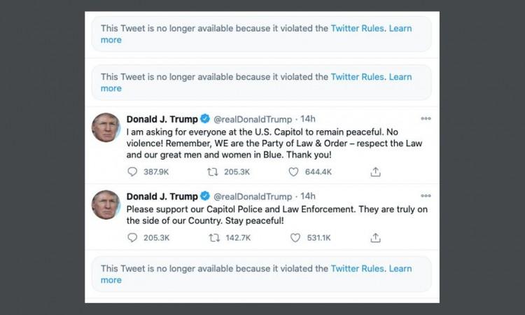 Facebook i Twitter blokirali Trumpa