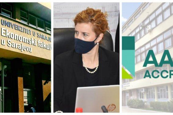 Ekonomski fakultet u Sarajevo reakreditiran prestižnom AACSB akreditacijom