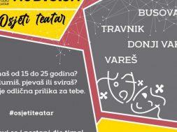 Audicija za mlade glumce iz Busovače, Travnika, Vareša i Donjeg Vakufa