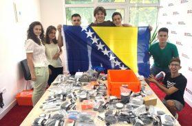 Robotički tim BiH zauzeo prvo mjesto na Međunarodnoj robotičkoj olimpijadi