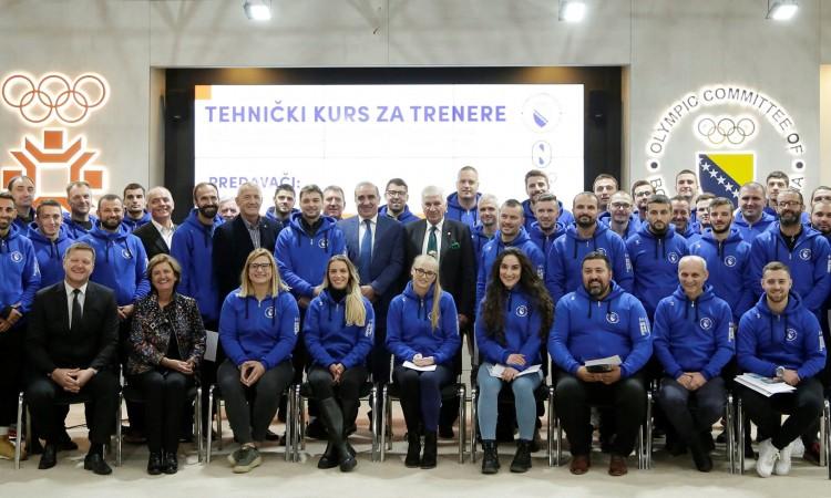 Olimpijski komitet BiH organizovao seminar za trenere