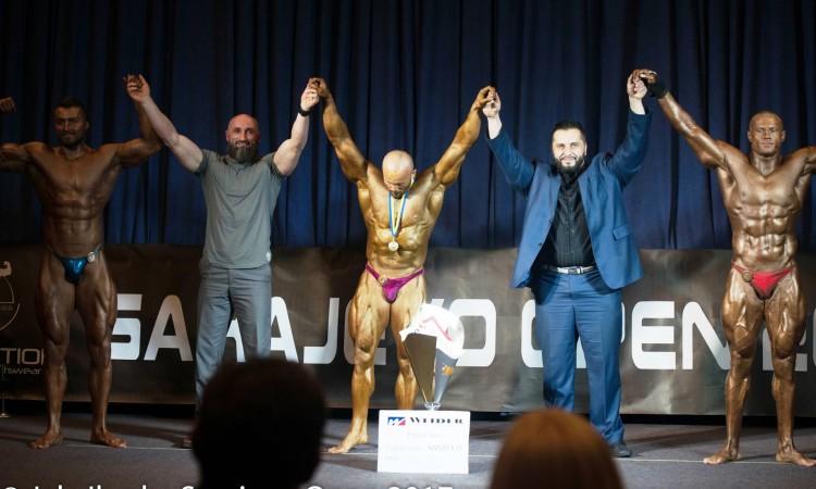 """Bodybuilding: Mirnes Husanović apsolutni pobjednik """"Sarajevo Opena"""""""
