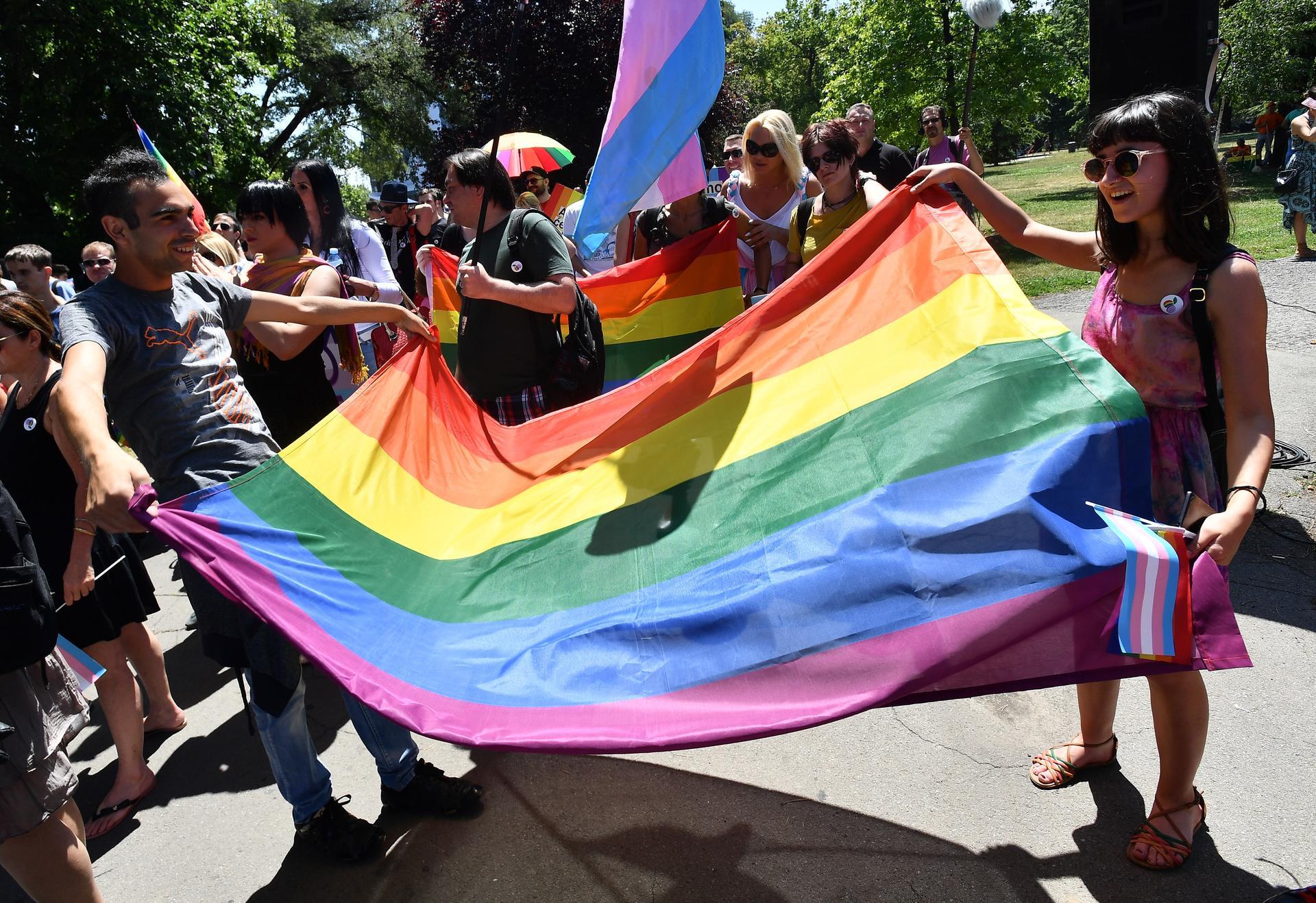 U Beogradu održana 'Parada ponosa'