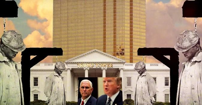 Jeste li već pogledali spot koji prikazuje Trumpa kao nacističku lutku (VIDEO)?