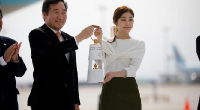 Olimpijska vatra stigla u Južnu Koreju