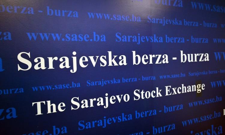 Na Sarajevskoj berzi promet 44.418,85 KM