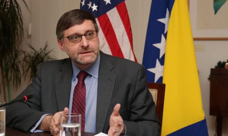 Matthew Palmer u posjeti Bosni i Hercegovini, Izborni zakon u fokusu razgovora