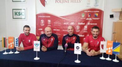 Rukometaši Vogošće vjeruju u plasman u 3. kolo EHF Challenge kupa