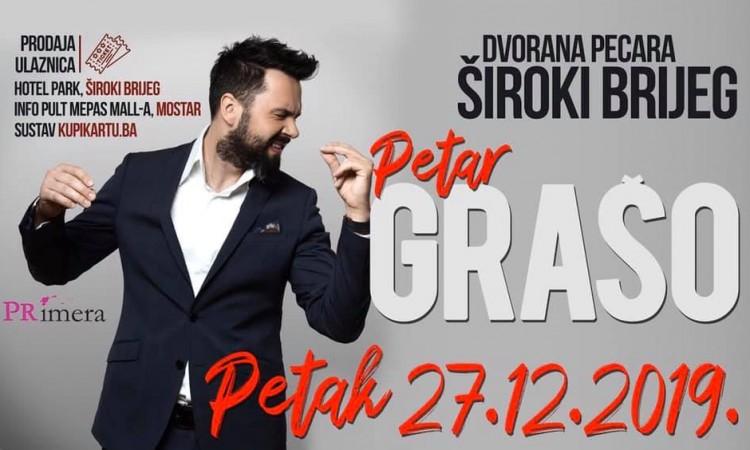 Sve spremno za koncert Petra Graše u Širokom Brijegu